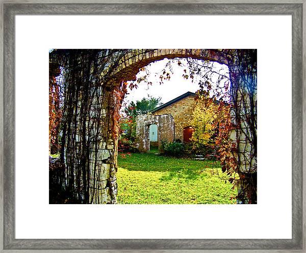 Doorways Framed Print