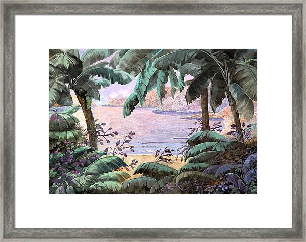 Dopo La Jungla Il Mare Framed Print