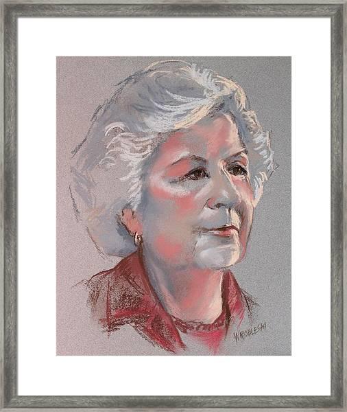 Doris Framed Print