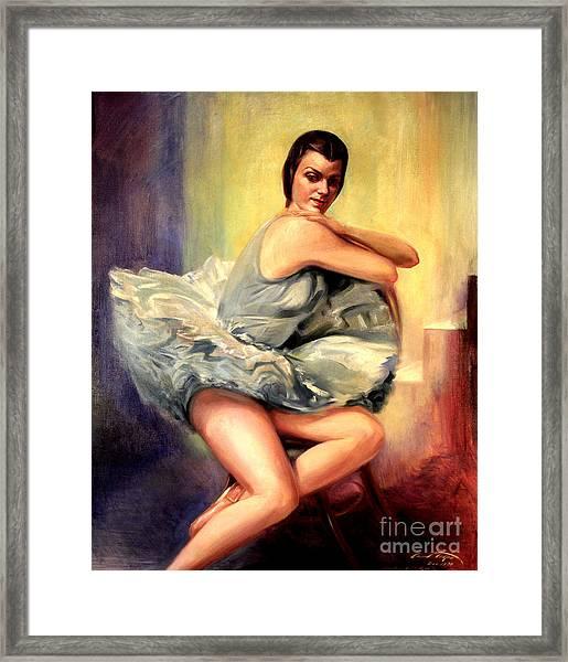Dorothy Littlefied Framed Print