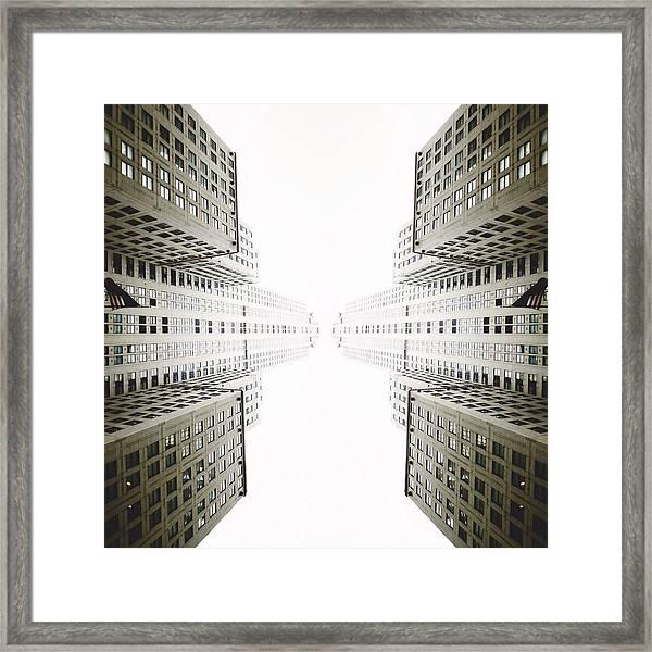Double Deco Framed Print