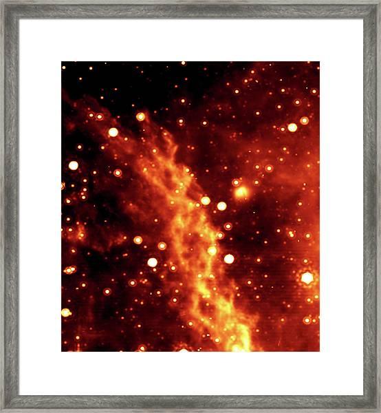 Double Helix Nebula Framed Print