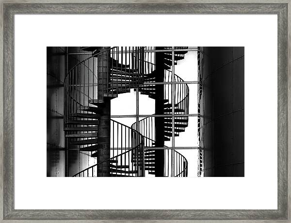 Double Mix Framed Print