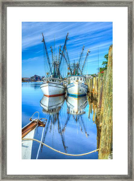 Framed Print featuring the photograph Double Parked by Francis Trudeau