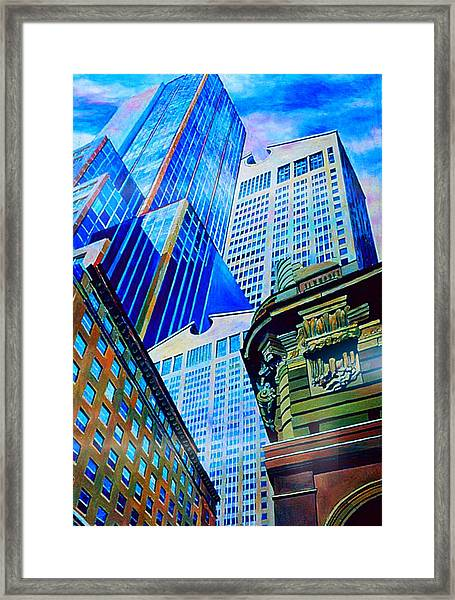 Double Vision Nyc Framed Print