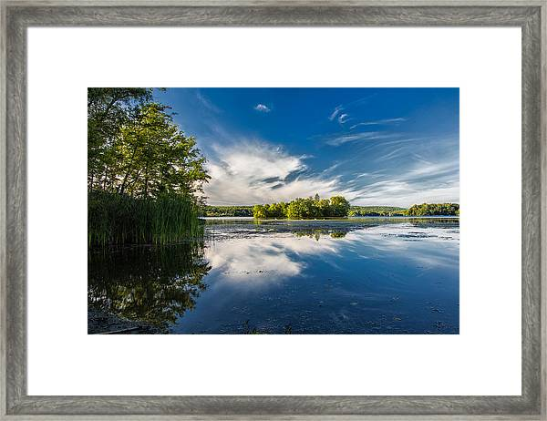 Dove Island Afternoon Framed Print