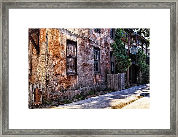 Down By The Old Mill Framed Print