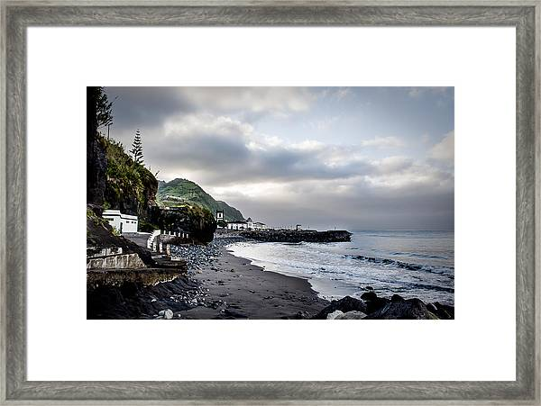 Down By The Sea  Framed Print