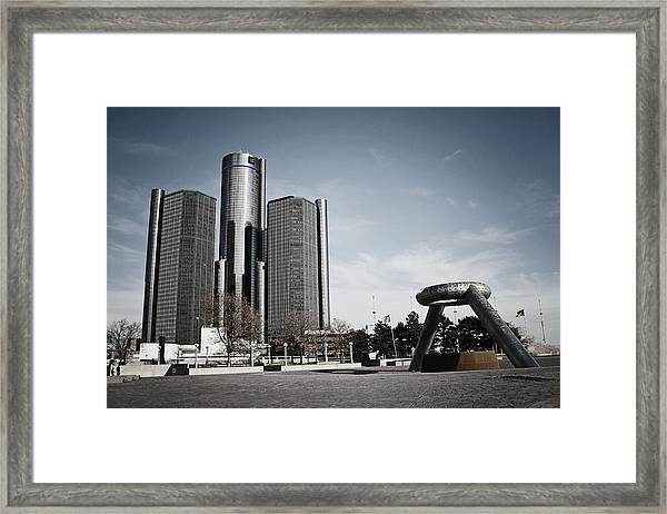 Downtown Detroit Framed Print