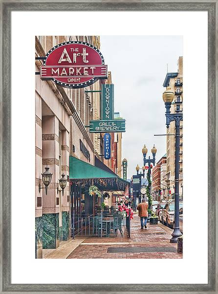 Downtown Knoxville Framed Print
