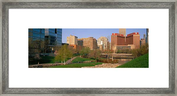 Downtown Omaha Ne Framed Print
