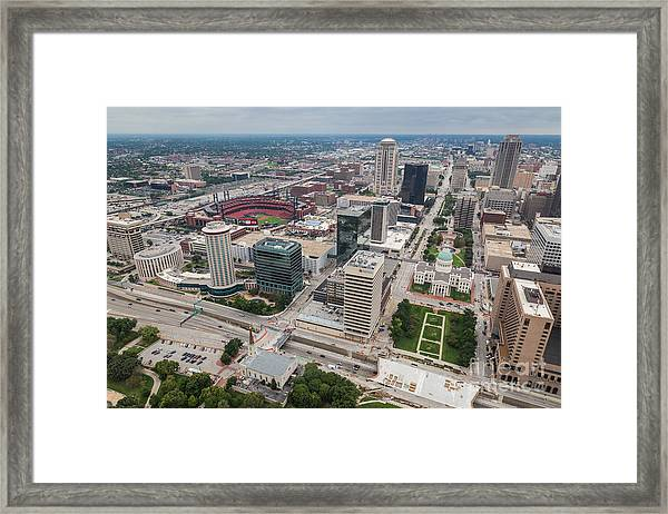 Downtown St Louis Framed Print