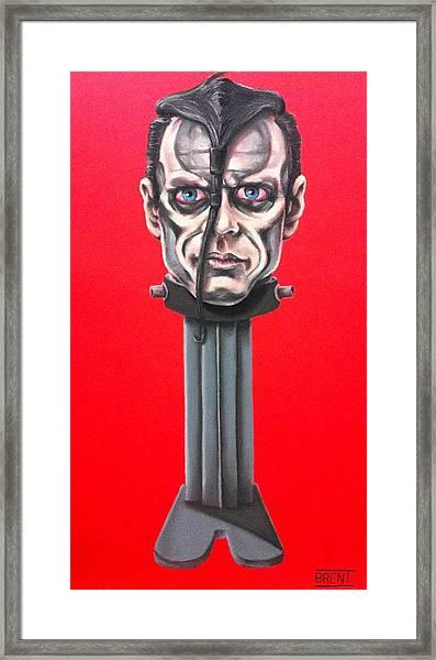 Doyle Wolfgang Von Frankenstein Framed Print by Brent Andrew Doty
