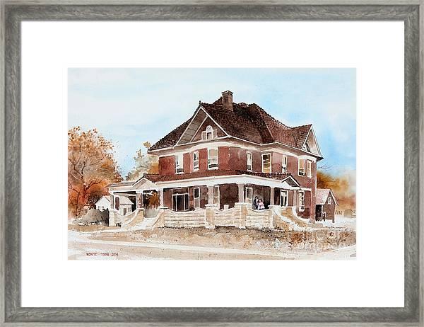 Dr. Hall Residence Framed Print