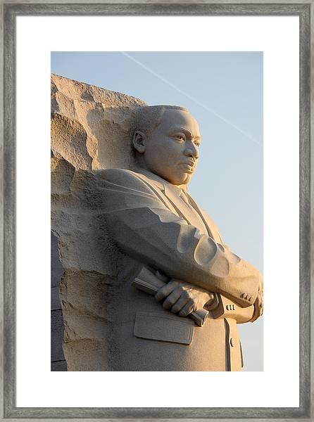 Dr King2 Framed Print