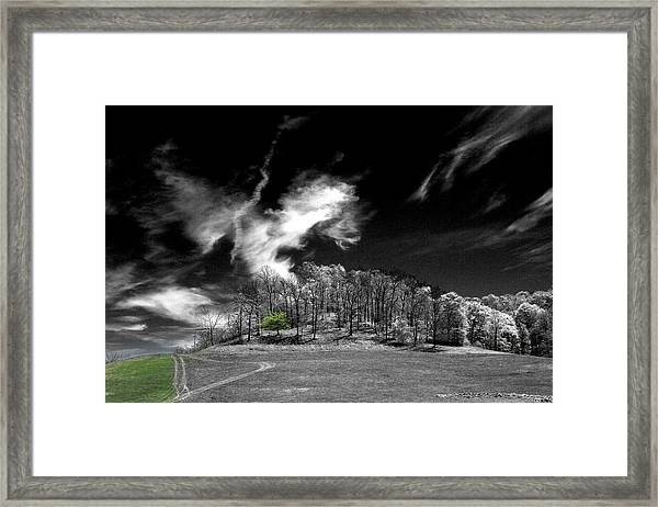 Dragon Cloud Framed Print
