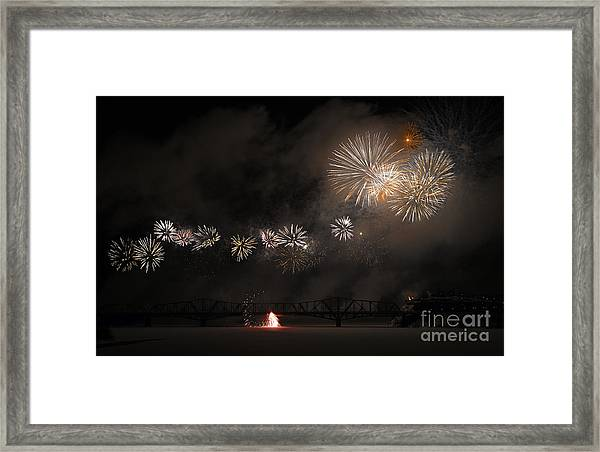 Dragon Of Light.. Framed Print