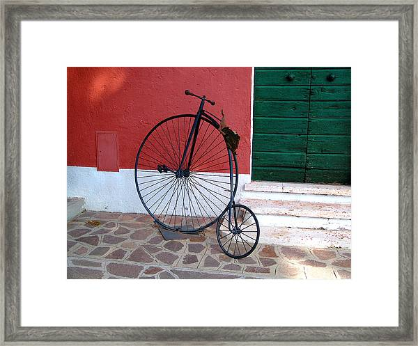 Draisina Framed Print