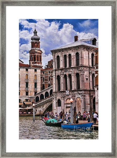 Dramatic Venice Framed Print