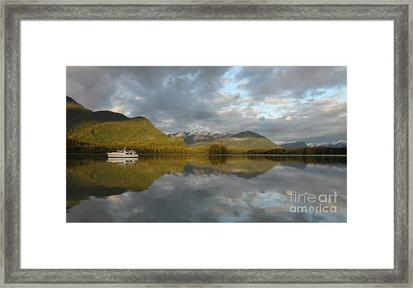Dream Anchorage Framed Print