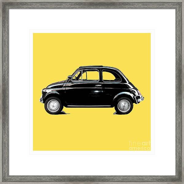 Dream Car Yellow Framed Print
