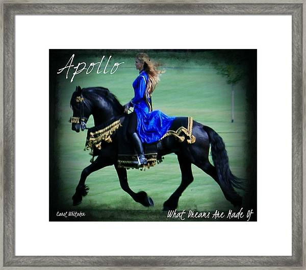 Dream Maker Framed Print