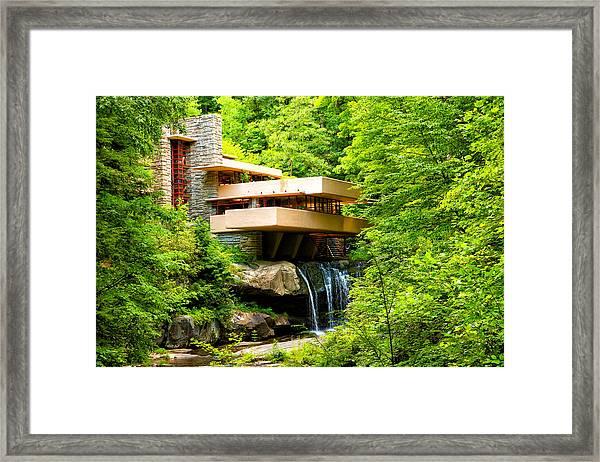 Dreaming Of Fallingwater 3 Framed Print