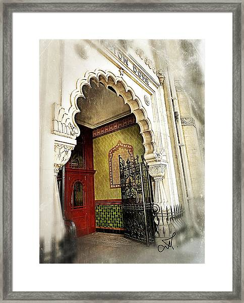 Doorway To Stardom Framed Print by Connie Handscomb