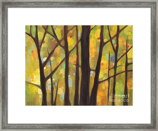 Dreaming Trees 1 Framed Print