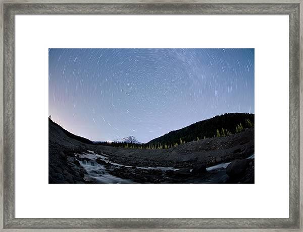 Dreaming Under The Stars Framed Print