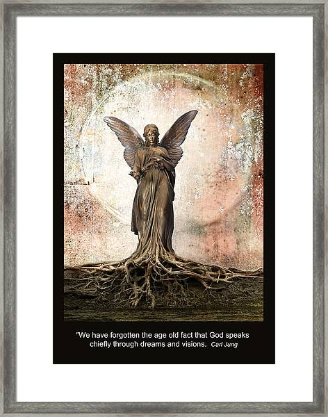 Dreams And Visions Framed Print