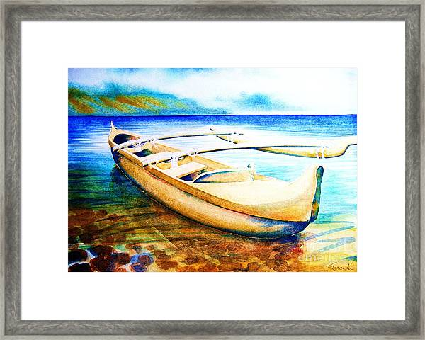 Dreams Of Polynesia Framed Print