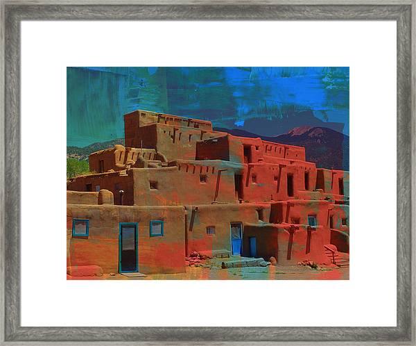 Dreams Of Taos Framed Print