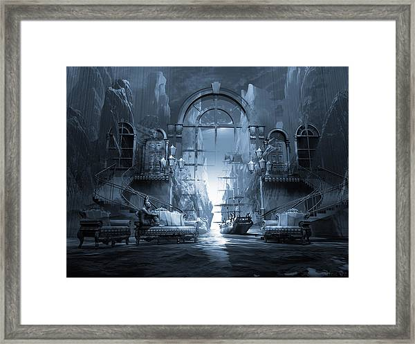 Dreamscape Reality Framed Print by George Grie