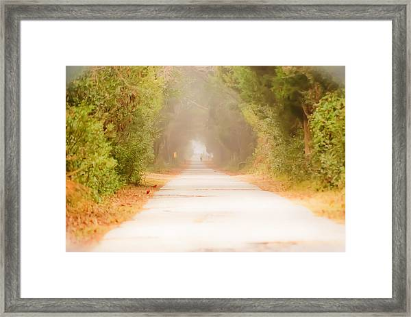 Framed Print featuring the photograph Dreamwalking by Francis Trudeau