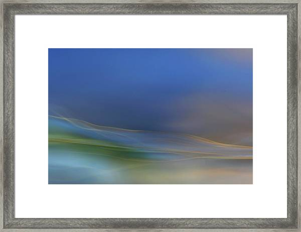 Dreamy Waters Framed Print