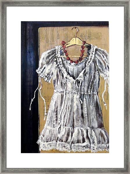 Dressing Up Framed Print