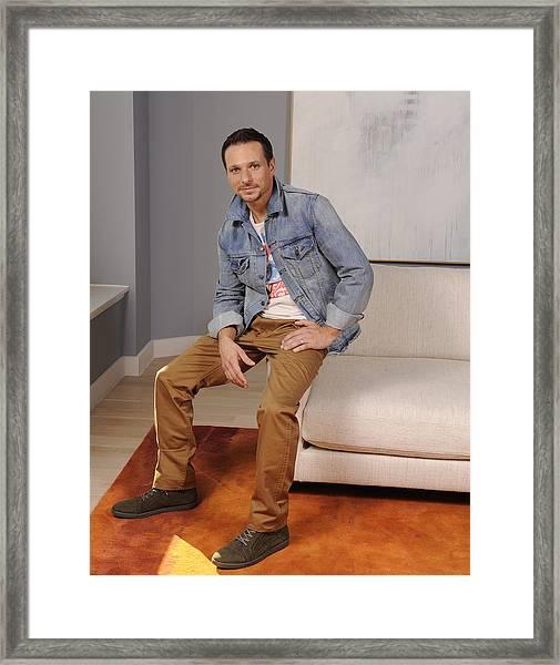 Drew Lachey Fashion Framed Print