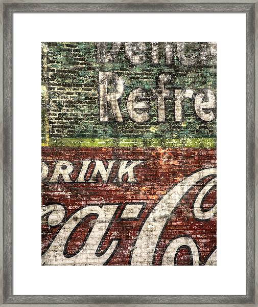 Drink Coca-cola 1 Framed Print