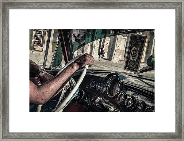 Driver Framed Print by Andreas Bauer
