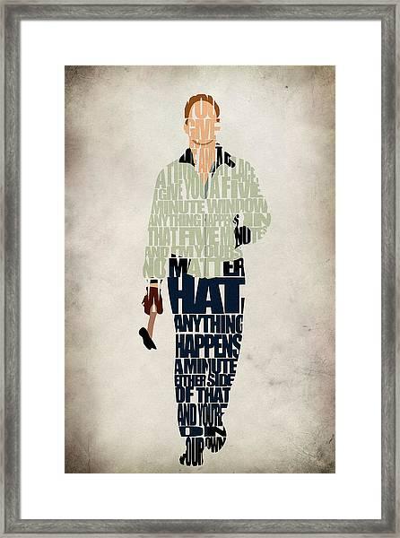 Driver - Ryan Gosling Framed Print