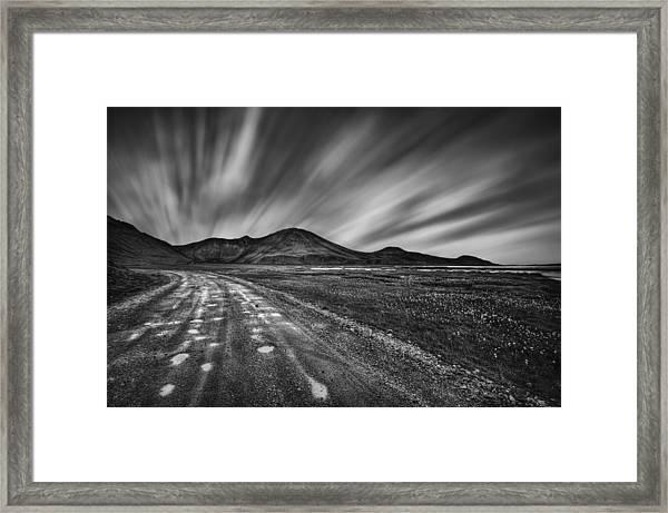 Drives You Wild Framed Print