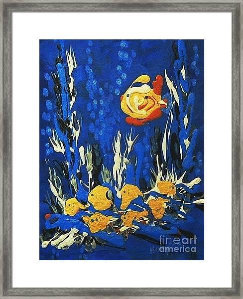 Drizzlefish Framed Print