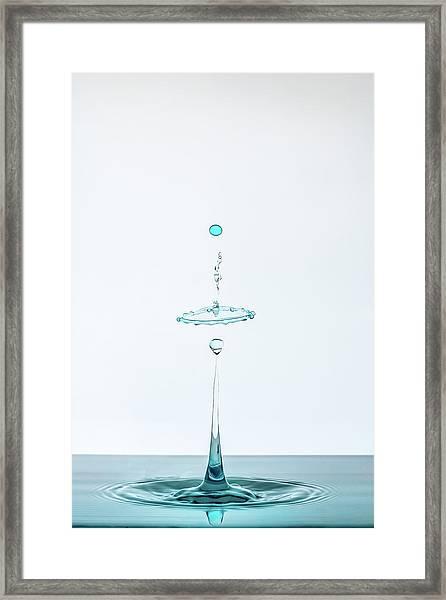 Drop Framed Print