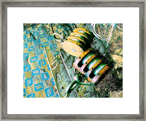 Drop And Give Me 20 Framed Print
