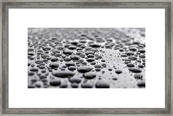 Droplets 1 Framed Print