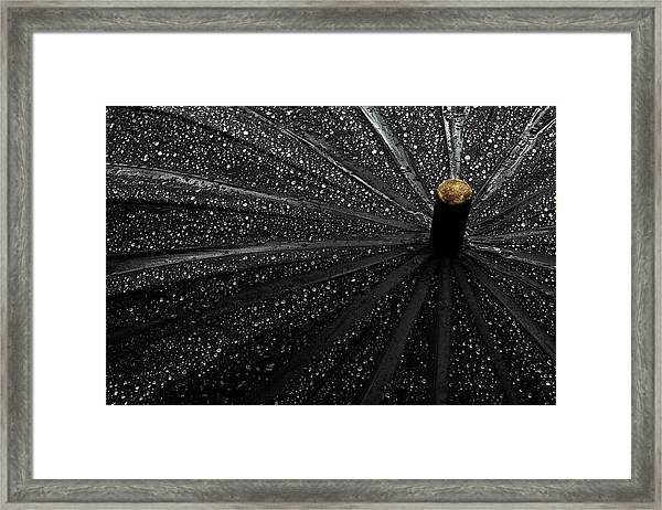 Drops Framed Print by Gilbert Claes