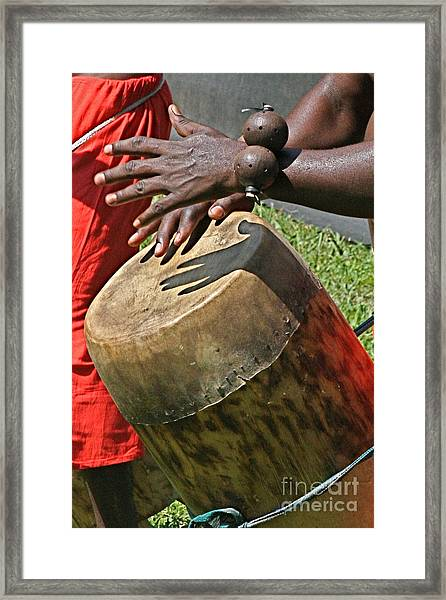 Drum Framed Print