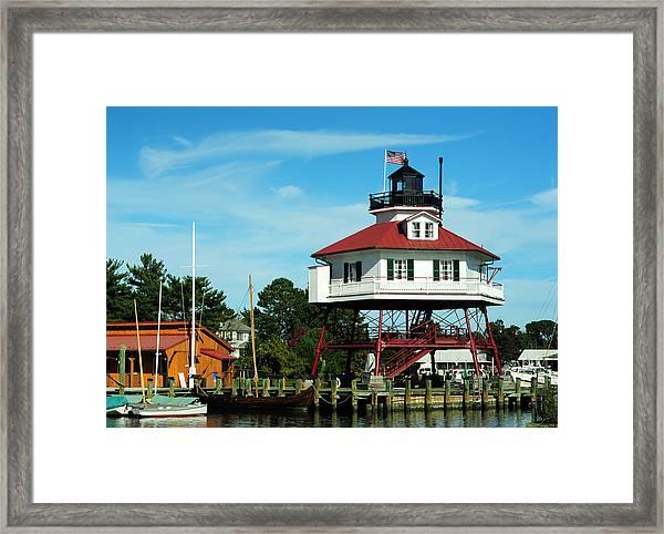 Drum Point Lighthouse Framed Print