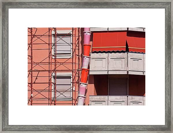 Drum Snake Framed Print
